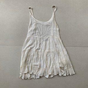 BRANDY MELVILLE  Ivory Babydoll Dress